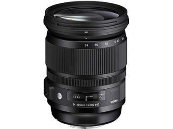 Sigma 24-105mm F4 DG OS HSM Lens - Sigma Mount