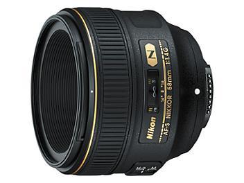 Nikon 58mm F1.4G AF-S Nikkor Lens