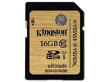 Kingston 16GB UHS-I Ulimate SDHC Card 90MB/s