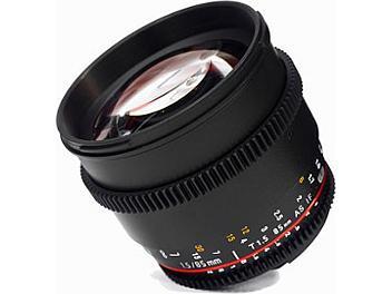 Samyang 85mm T1.5 Cine Lens - Sony E Mount