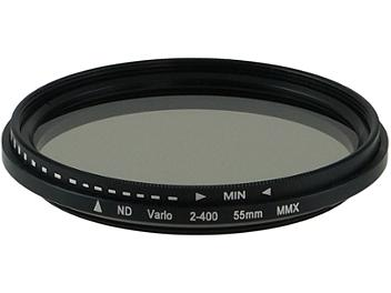 Globalmediapro Variable Neutral Density ND2-ND400 Filter 55mm