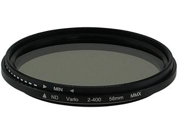 Globalmediapro Variable Neutral Density ND2-ND400 Filter 58mm