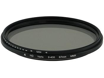 Globalmediapro Variable Neutral Density ND2-ND400 Filter 67mm