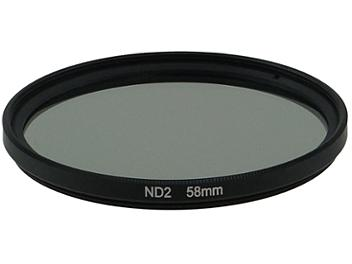 Globalmediapro Neutral Density ND2 Filter 58mm
