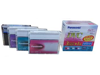 Panasonic AY-DVM60DN4C mini-DV Cassettes and Cleaning Tape Kit (pack 120 pcs)