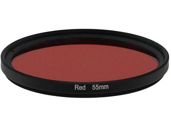 Globalmediapro Full Color Filter 55mm - Red