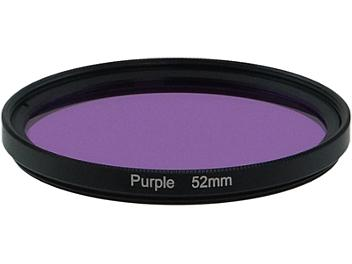 Globalmediapro Full Color Filter 52mm - Purple