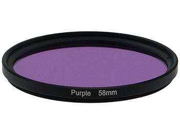 Globalmediapro Full Color Filter 58mm - Purple