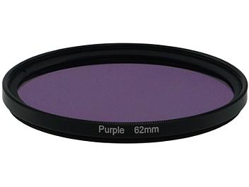Globalmediapro Full Color Filter 62mm - Purple