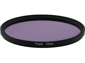 Globalmediapro Full Color Filter 72mm - Purple