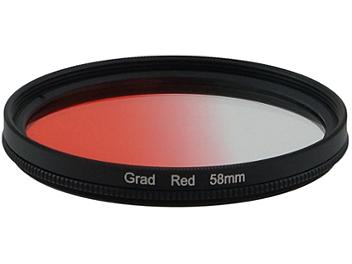 Globalmediapro Graduated Filter 58mm - Red