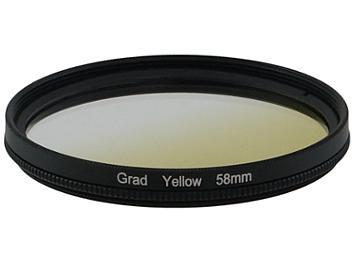 Globalmediapro Graduated Filter 58mm - Yellow
