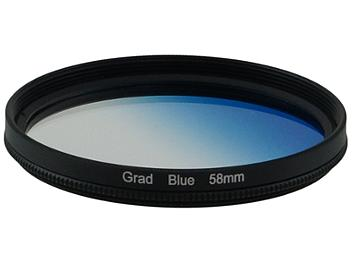 Globalmediapro Graduated Filter 58mm - Blue