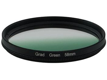 Globalmediapro Graduated Color Filter 58mm - Green