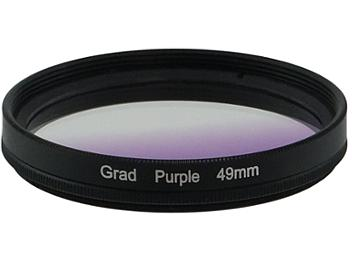 Globalmediapro Graduated Color Filter 49mm - Purple