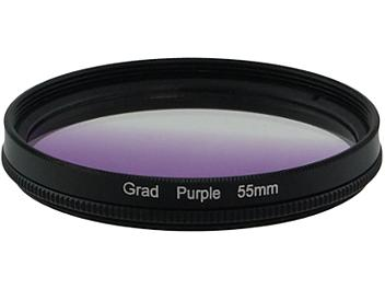 Globalmediapro Graduated Filter 55mm - Purple