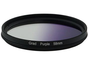 Globalmediapro Graduated Filter 58mm - Purple