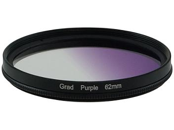 Globalmediapro Graduated Filter 62mm - Purple