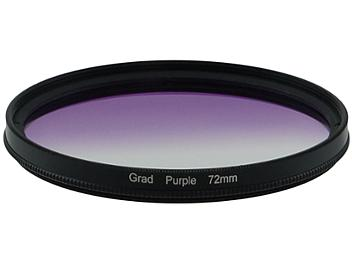 Globalmediapro Graduated Filter 72mm - Purple
