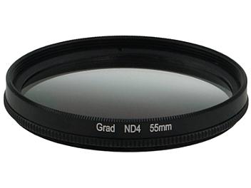 Globalmediapro Neutral Density ND4 Graduated Filter 55mm