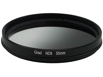 Globalmediapro Neutral Density ND8 Graduated Filter 55mm