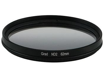 Globalmediapro Neutral Density ND2 Graduated Filter 62mm