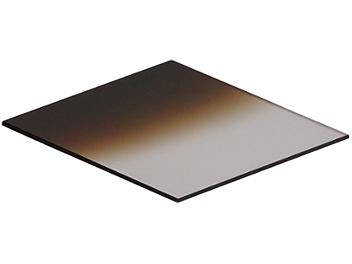 Globalmediapro Square 83 x 95mm Graduated Filter - Coffee
