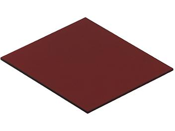 Globalmediapro Square 83 x 95mm Full Color Filter - Red