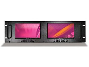 Viewtek LRM-7531 2 x 7-inch LCD Monitors with VGA Input