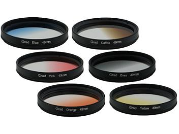Globalmediapro Filter Kit 003 (Graduated) 49mm, 6pcs