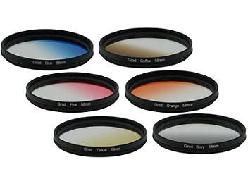 Globalmediapro Filter Kit 003 (Graduated) 58mm, 6pcs