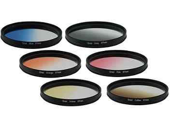 Globalmediapro Graduated Color Filter Kit 003 67mm, 6pcs
