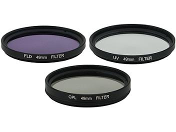 Globalmediapro Filter Kit 005 (UV, CPL, FLD) 49mm, 3 pcs