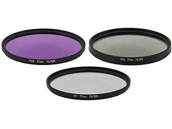 Globalmediapro Filter Kit 005 (UV, CPL, FLD) 77mm, 3 pcs