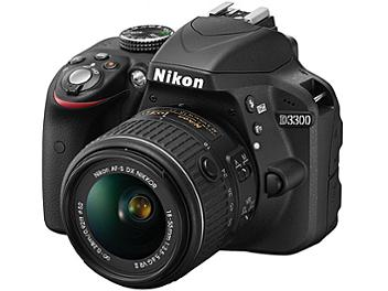 Nikon D3300 Digital SLR Camera Kit with 18-55mm VR II Lens