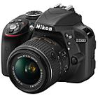 Nikon D3300 DSLR Camera Kit with 18-55mm VR II Lens