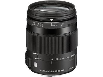 Sigma 18-200mm F3.5-6.3 DC Macro OS HSM Lens - Nikon Mount