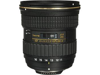 Tokina 11-16mm F2.8 AT-X Pro DX II Lens - Nikon Mount