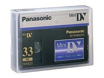 Panasonic AY-DVM33PQ mini-DV Cassette (pack 10 pcs)