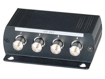 Globalmediapro SHE SDI04DE 1-in 4-out HD-SDI Distribution Amplifier