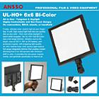 Ansso UL-HO+ 6x6 Bi-Color U Camera Light with BP-U Mount
