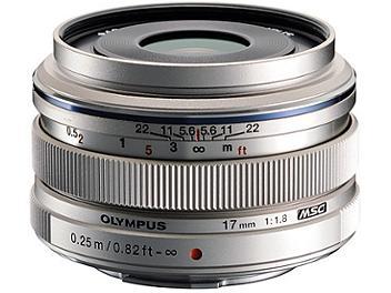 Olympus 17mm F1.8 M.Zuiko Digital Lens - Micro Four Thirds Mount