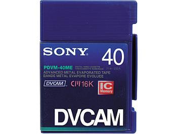 Sony PDVM-40ME DVCAM Cassette (pack 10 pcs)