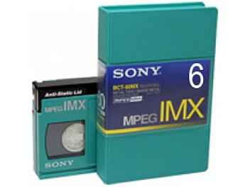Sony BCT-6MX MPEG IMX Cassette (pack 10 pcs)