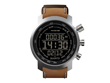 Suunto SS018733000 Elementum Terra Brown Leather Watch
