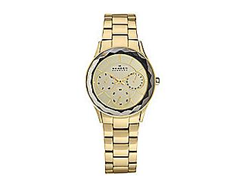 Skagen 344LGXG Gold Tone Stainless Steel Link Watch