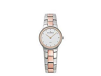 Skagen 430SSRX Two Tone Link Watch