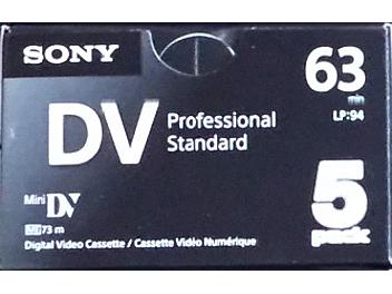 Sony 5DVM63PS mini-DV Cassette (pack 100 pcs)