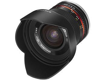 Samyang 12mm F2.0 NCS CS Lens - Four Thirds Mount