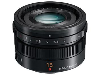 Panasonic 15mm F1.7 H-X015 ASPH. DG Summilux Lens - Micro Four Thirds Mount